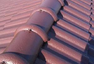 乾式洋瓦葺き屋根