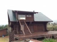 宗像市 ログハウス 外壁塗装・屋根塗装